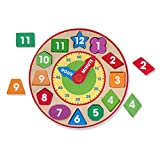 Melissa & Doug Wooden Toys - Shape Sorting Clock