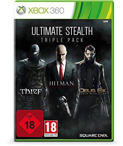 Ultimate Stealth Triple Pack - Thief, Hitman: Absolution, Deus Ex: Human Revolution [Importación Alemana]