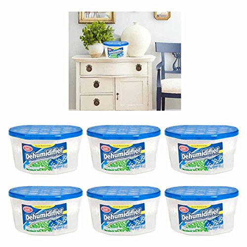 Review 6 Dehumidifier Disposable Moisture Absorber Damp Trap Mold Closet Fresh Air Home