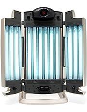 Eurosolar 9212 - Lámpara bronceadora trifacial de 12tubos