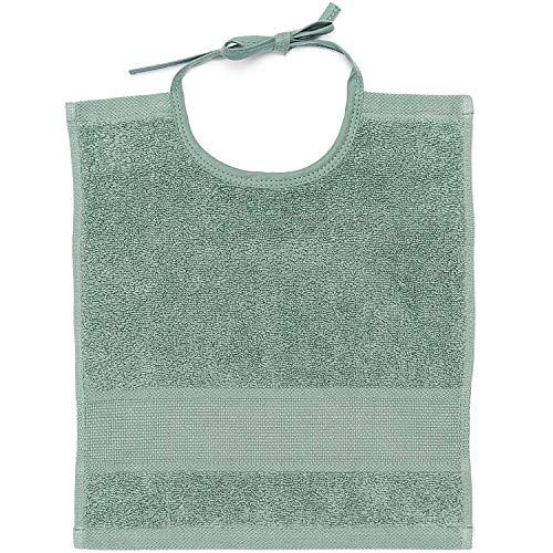Rico Design GmbH Bavaglino 30 x 34 cm – Colore: 273 – Verde Mare – con Aidafeld da ricamare