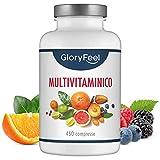 ✅ VANTAGGI DELLE MULTIVITAMINICO - La vitamina A ad esempio supporta la vista, la pelle e il sistema immunitario. Lo zinco supporta il metabolismo, la funzione cognitiva e altro. Non possiamo dettagliare tutte le funzioni di supporto delle vitamine, ...