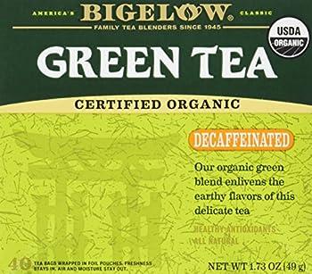 Best organic green tea decaffeinated Reviews