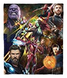 Marvel's Avengers Infinity War, 'Team Infinity' Silk Touch Throw Blanket, 50' x 60', Multi Color
