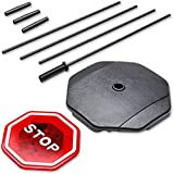 Car Flashing LED Light Garage Parking Signal Stop Sign,ABS Material,Easy To Assemble and Disassemble,LED Stop Sign Parking Assistant for Garage Flashing Signal