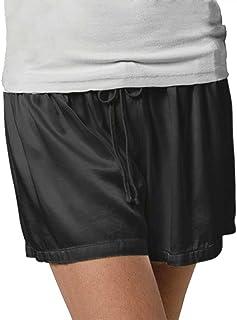 PJ Harlow Women's Mikel Bottoms-Nightwear, Lingerie & Underwear, Black, Extra Large
