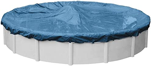 Robelle 3524-4 Super Winter Pool Cover for Round Above Ground Swimming Pools, 24-ft. Round Pool (Renewed)