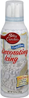 Betty Crocker Easy Flow Icing White, 6.4-Ounce (Pack of 6)