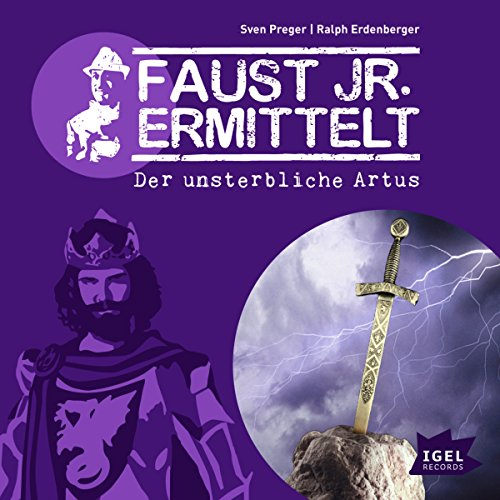 Der unsterbliche Artus audiobook cover art