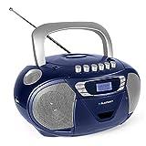 Blaupunkt B 110 BL tragbarer CD Player für Kinder, Hörbuch Funktion und USB,...