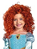 Disguise Costumes Brave Merida Wig, Red, One Size