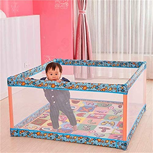 Learn More About Byrhgood Playpen Baby Indoor Non-Slip Baby Play Fence with Pad/pad, Portable Play F...