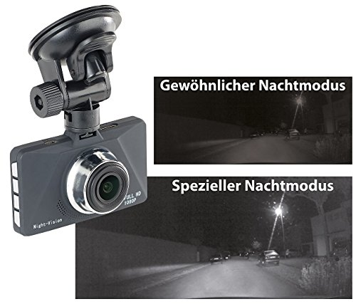 NavGear Full-HD-Dashcam MDV-2900 - 2