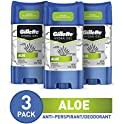 3 Pack Gillette Antiperspirant Deodorant for Men, 3.8 Oz