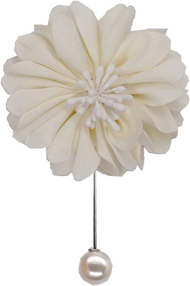 4pcs Men New popularity Brooch Satin Flower Wedding Groom Lapel Pin Boutonniere Manufacturer OFFicial shop