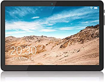 Android Tablet 10 Inch 5G WiFi Tablet with Dual Camera 16GB Storage Android 8.1 Tablets PC Quad-Core Processor Google Certified 1280x800 IPS HD Display Bluetooth GPS FM - Black