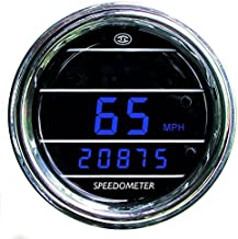 Speedometer Gauge for Kenworth 2005 or previous - Bezel: Chrome - LED Color: Red
