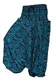 Shopoholic Fashion OM Estampado Holgado Pantalones Harén , GENIAL Cómodo Pantalón de yoga, HIPPY