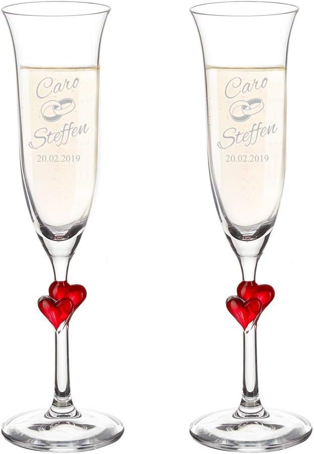 Photo de set-de-2-flutes-a-champagne-personnalisees