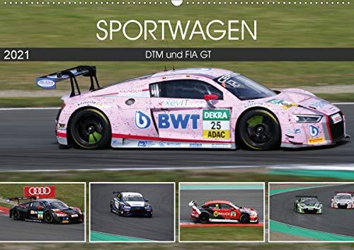 SPORTWAGEN DTM und FIA GT (Wandkalender 2021 DIN A2 quer)