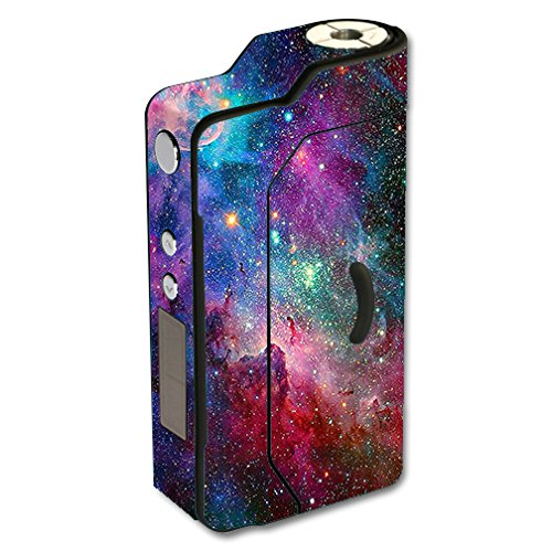 Skin Decal Vinyl Wrap for Sigelei 150W TC Temp Control watt Vape Mod Box / Colorful Space Gasses