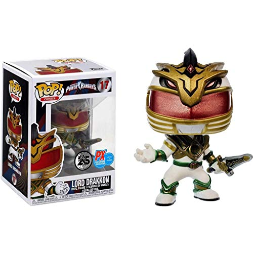 Funko Pop Television : Power Rangers - Lord Drakkon (PX Exclusive) 3.75inch Vinyl Gift for Hero Fans SuperCollection