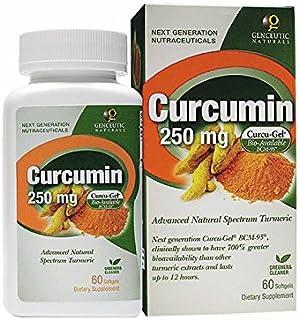 Genceutic Naturals Curcumin Organic Raw Dietary Supplement Vegetarian Vegan Gluten Free Non GMO Ideal for healthy Immune B...