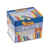 Jovi Classcolor 152692 - Pack de 100 tizas, multicolor
