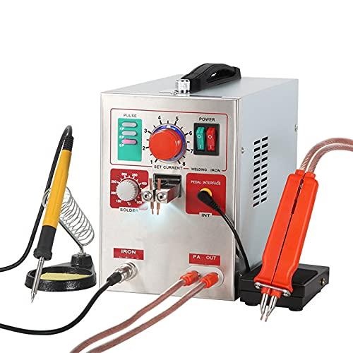 JFF LED Pulse Spot Welder Weld 18650 Battery Welding Machine with Charger Spot Welder Solder Welding Machine