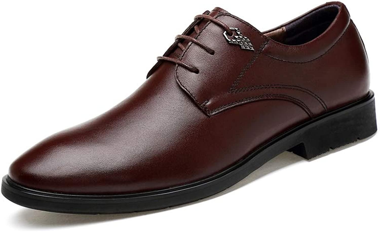 Men's Business Dress shoes Non-slip Casual shoes Cozy Wear resistant Low help On foot Single shoes