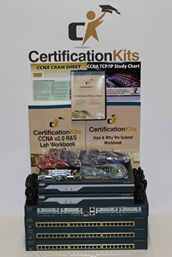 New Premium CCNA & CCNA Security Lab Kit 3-1841 256/64 IOS 15 Routers, 3-2950 Switches ASA 5505