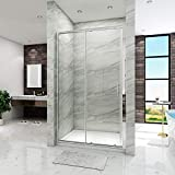 ELEGANT 1000mm Sliding <span class='highlight'>Shower</span> <span class='highlight'>Door</span> Enclosure Reversible 6mm Glass <span class='highlight'>Shower</span> Screen Bathroom <span class='highlight'>Shower</span> Cubicle