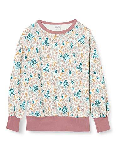 Fred's World by Green Cotton Girls Botany Sweatshirt, Cream, 134