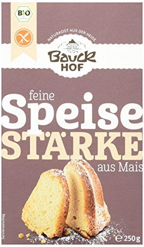 Bauckhof Speisestärke (Mais) glutenfrei, 6er Pack (6 x 250 g) - Bio