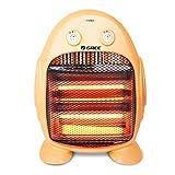 ALUA- Portable Heater – Infrared Heater Quartz Infrared Heater with 2 Heat Settings