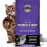 World's Best Cat Litter Original Series 14 Pound Bag, Lavender Scented Multiple Cat Clumping Litter, Outstanding Odor Control, PET, People & Planet Friendly Fast Delivery!!!
