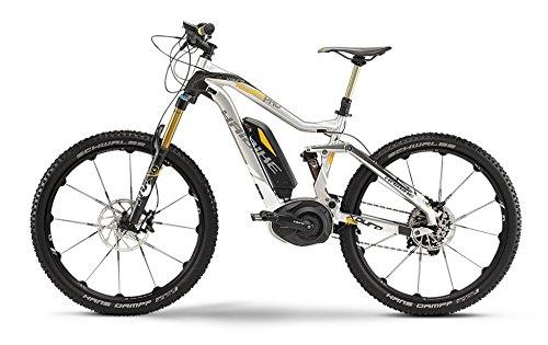 "Haibike Xduro AllMtn Pro 27,5""(2015), mountain bike, colore: argento / nero, Unisex, 4555411544, 44cm"