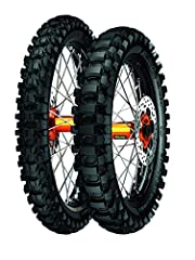 Features Metzelers CKB design (Continuous Knob Binding) with dense, narrow knobs that dig into soft terrain and an extended footprint on hard terrain Provides superior grip in an incredibly wide variety of terrain, adds braking stability and boosts t...