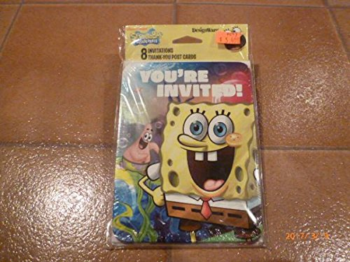 スポンジボブ ポストカード 8枚セット アメリカ雑貨 post card usa sponge bob usdm 文具 超レア スクエアーパンツ
