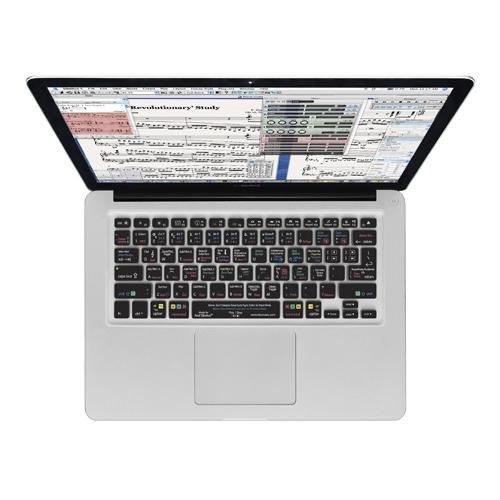 KB Covers Sibelius QWERTY Schutzhülle für MacBook Air 13 Zoll (33,8 cm) / Pro, transparent