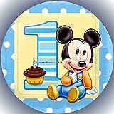 Premium Esspapier Tortenaufleger Party Geburtstag Micky Maus T74