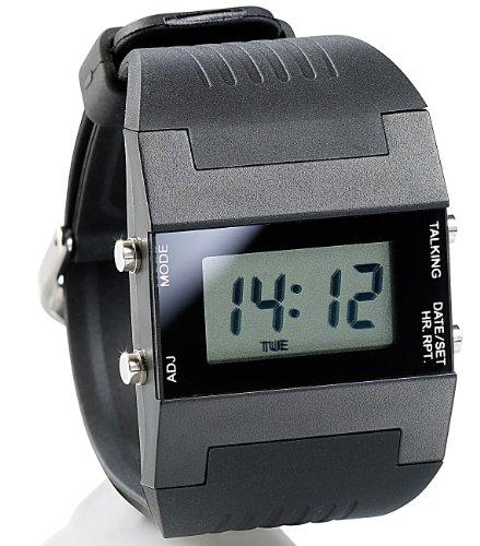 St. Leonhard Armbanduhr mit Wecker: Sprechende Damen-Armbanduhr mit Weckfunktion (Armbanduhr mit Wecker Damen)