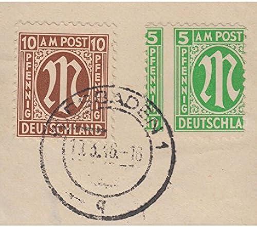 Goldhahn AM Post Verz ung 5 PFG. aufüriefStück Briefürken für Sammler
