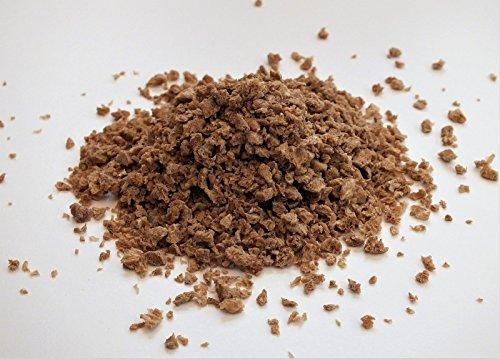 Proteína vegetal texturizada, carne picada natural (TVP)
