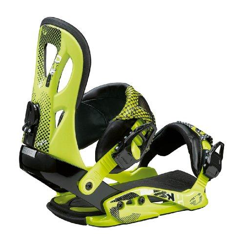 Snowboard Bindung Drake Fifty 09/10 acid green M