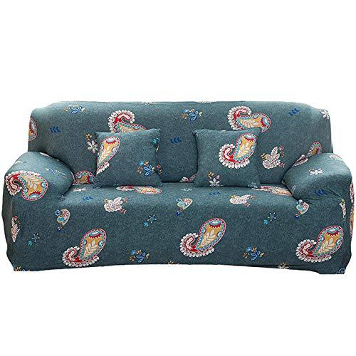 Elastische Stretch-Sofa-Cover All-Inclusive-staubfestes elastisches Schutzschützer Sessel Sessel Wohnzimmer Couch Abdeckung für den 1./2/3/4 Sitzer-021_1 Platz 90-140 cm