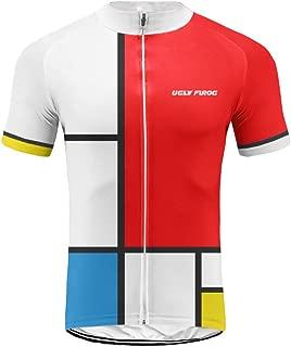 Uglyfrog Men's Short Sleeves Cycling Jersey Bicycle MTB Bike Shirt XSNX01