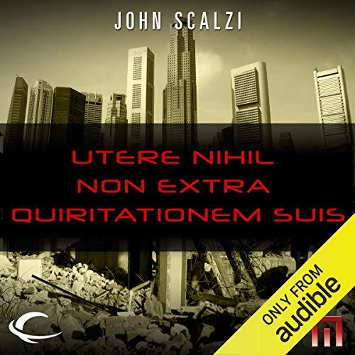 Page de couverture de Utere Nihil Non Extra Quiritationem Suis
