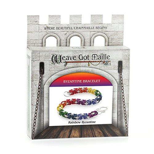 Weave Got Maille Rainbow Byzantine Chain Maille...