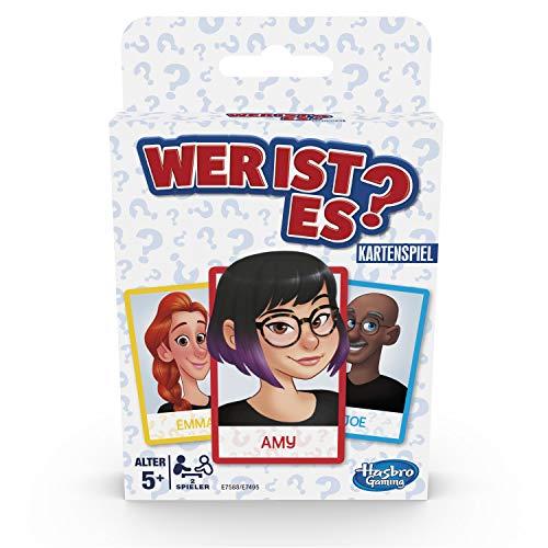 Hasbro Gaming E7588GC0 Wer ist es Kartenspiel für Kinder ab 5 Jahren, Ratespiel für 2 Spieler